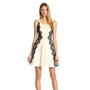 Jessica Simpson Fit and Flare dress with lace side